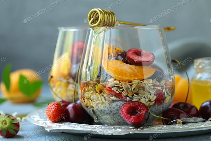 Healthy Breakfast Chia Pudding