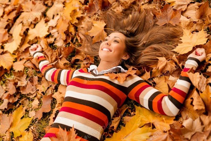 Enjoying In Autumn