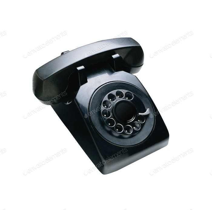 telephon with rotary dial