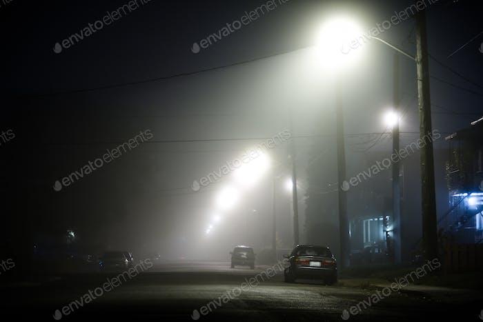 Foggy Straße