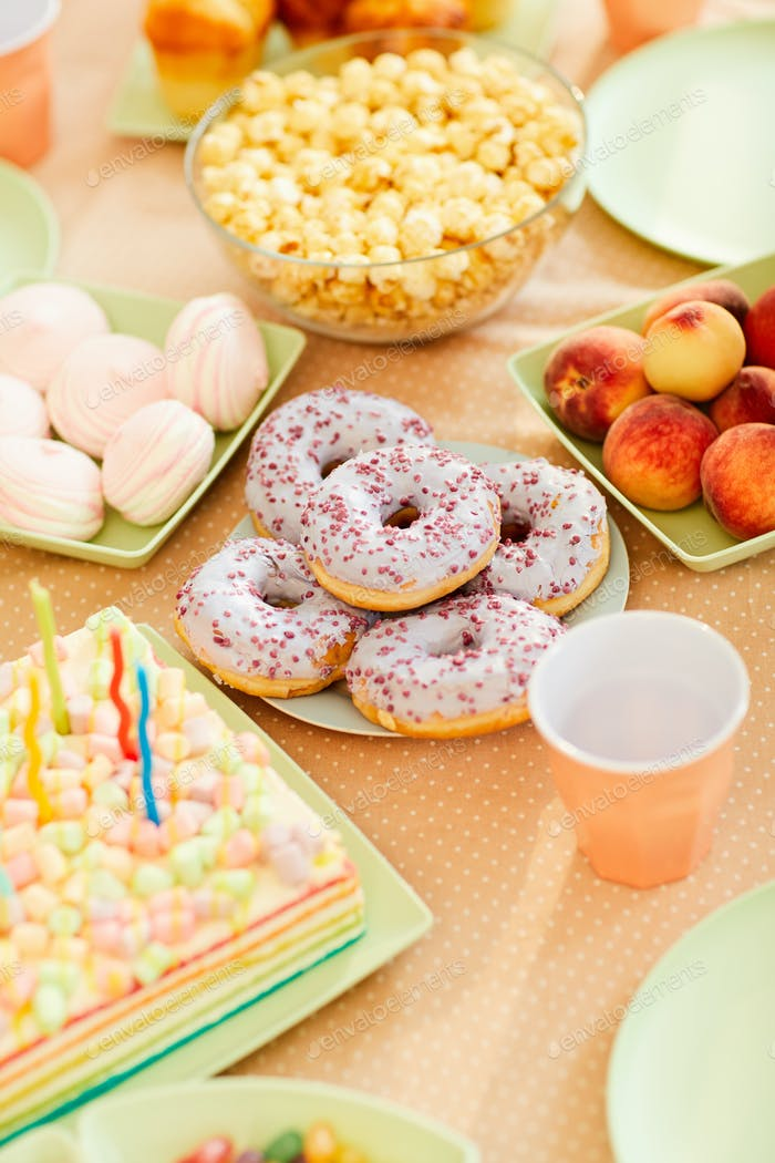 Birthday Table for Kids