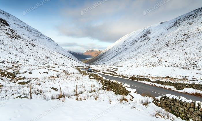Kirkstone pass in Cumbria