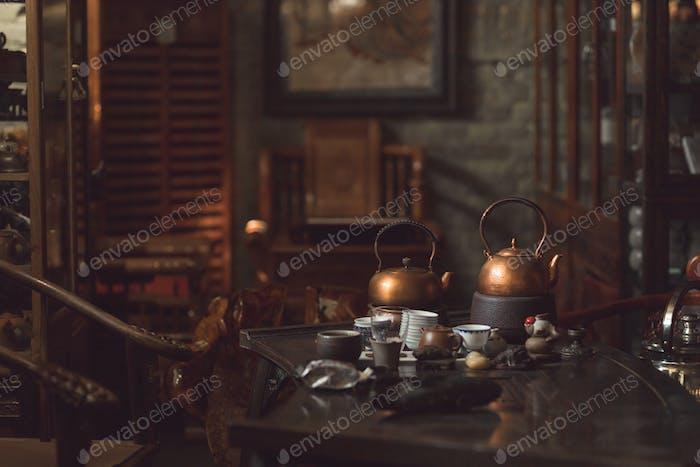 Interior tea room