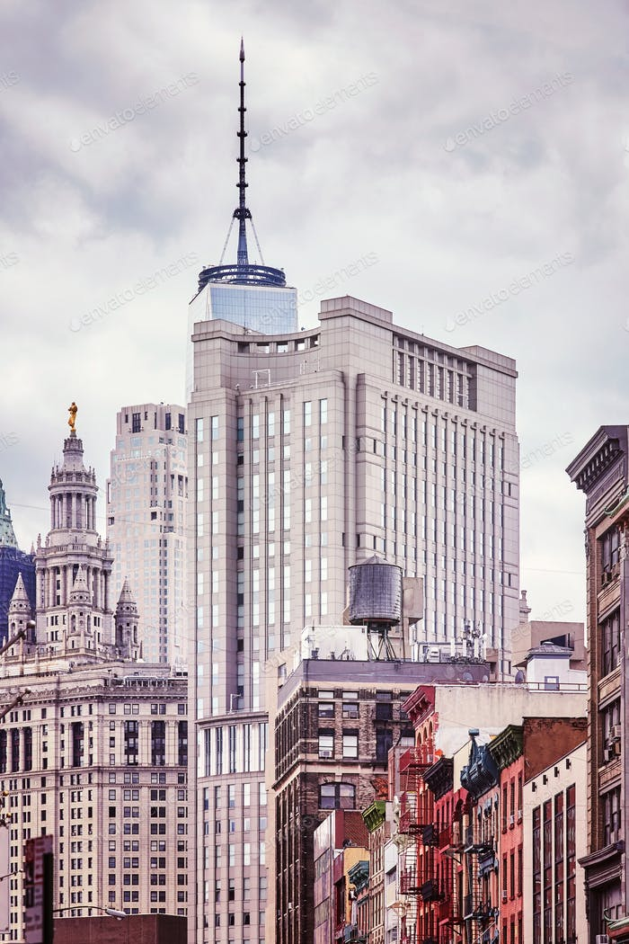 New York City architecture, USA.