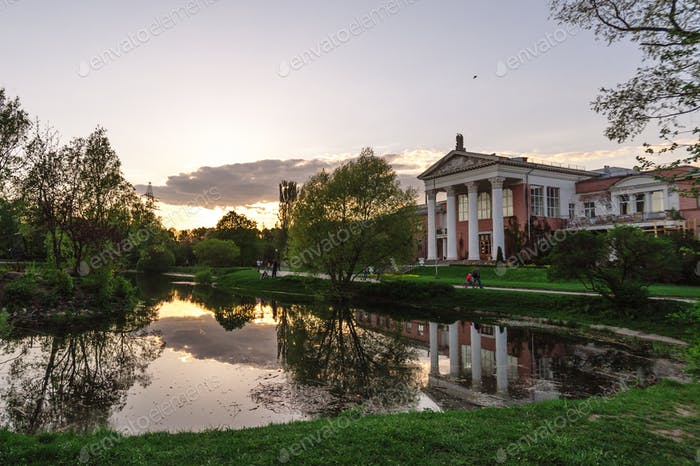 Lake in the Botanical Garden