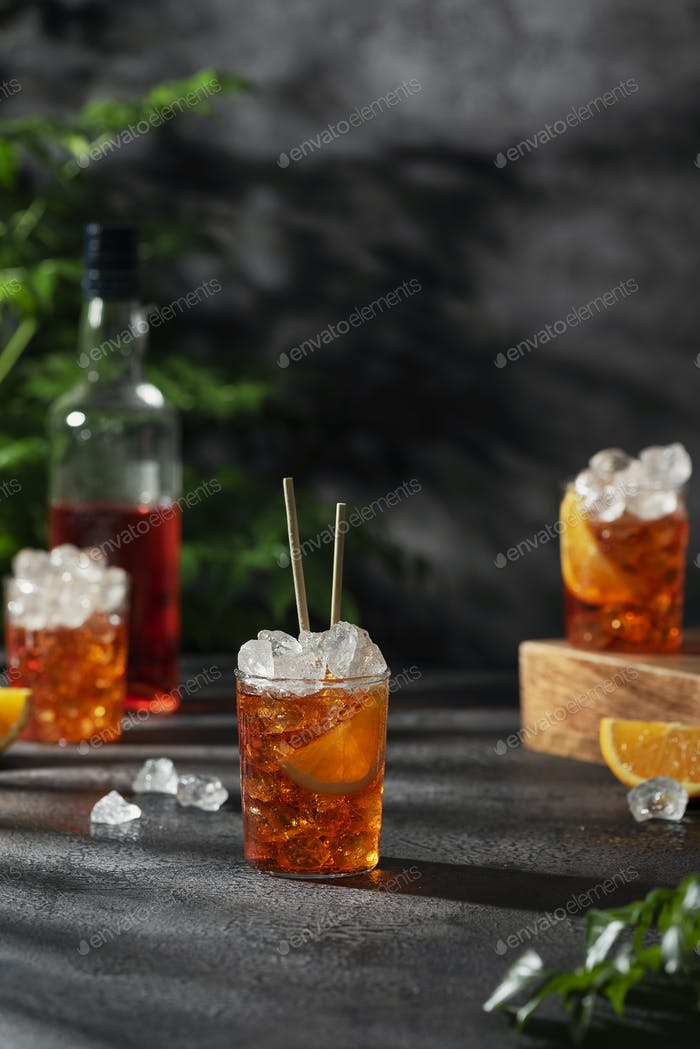 Summer Italian cocktail aperol