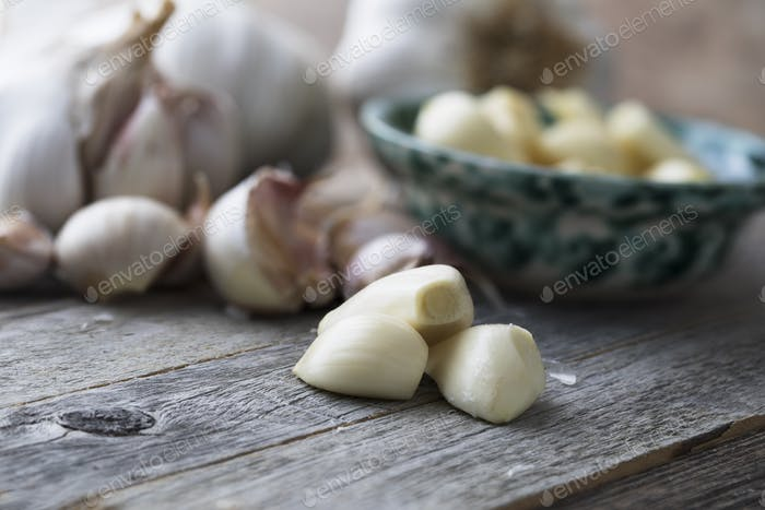 Peeled Garlic Cloves