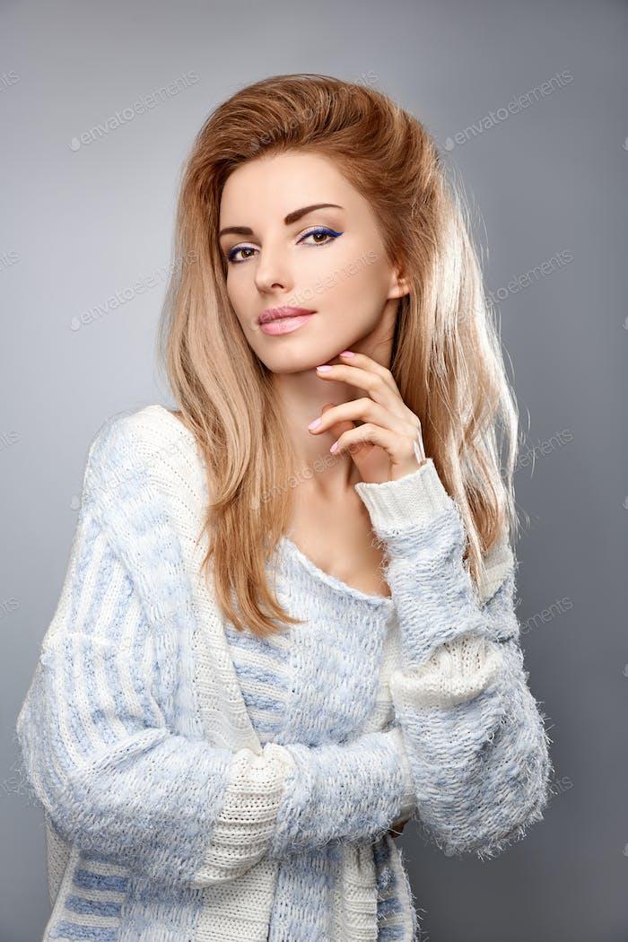 Sensual blonde