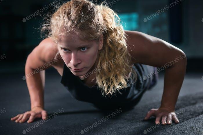 Women Doing Plank