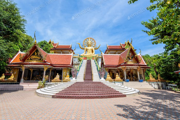 Big Buddha Temple at Koh Samui