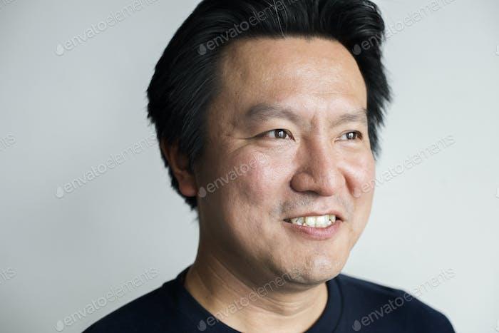 Portriat of Asian man