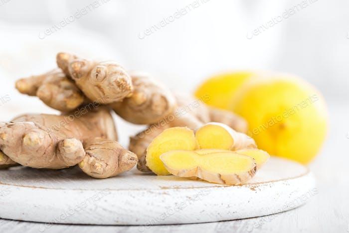 Jengibre y limones