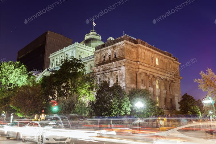 Old Palais de Justice in Montreal