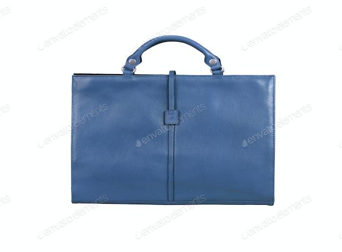 Blau Aktentasche
