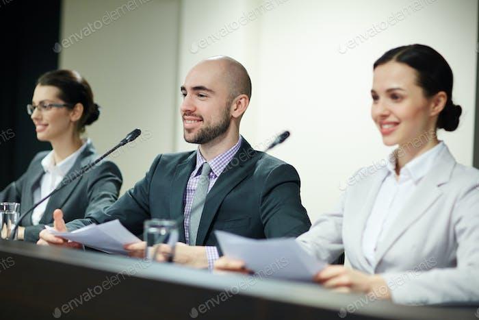 Successful delegates