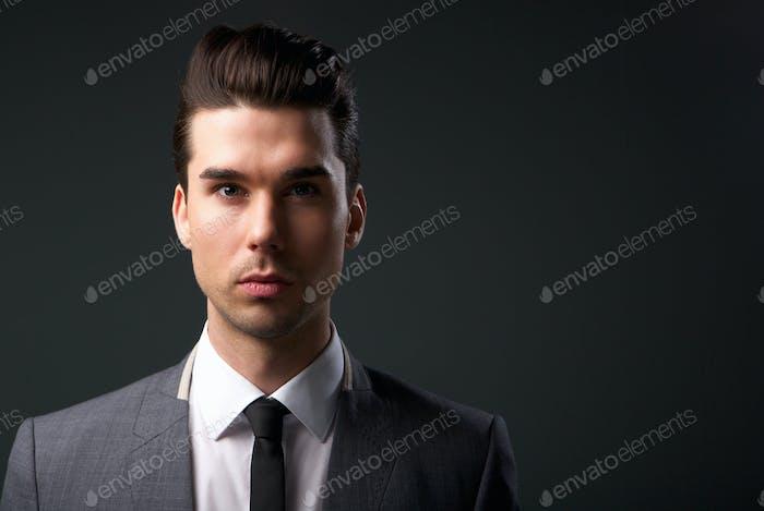 copy space business portrait