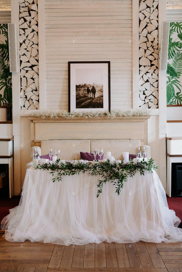 presidium of the newlyweds