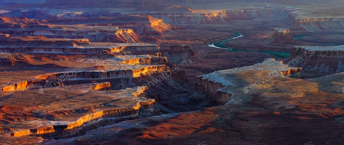 Colorado River, Canyonlands National Park, Utah, USA