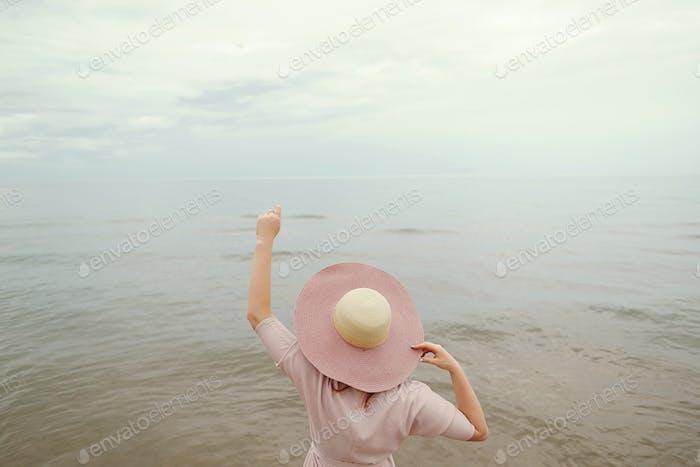 Thumbnail for pretty girl in a beach