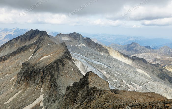 Aneto Peak (highest in Pyrenees) in Huesca, Spain
