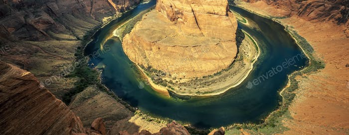 Famous Horseshoe bend