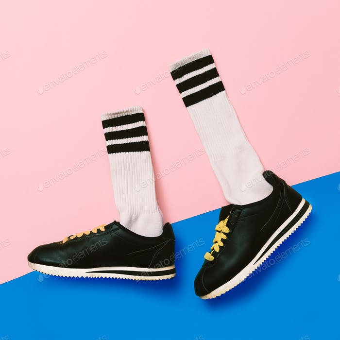 Sneaker fashion minimal