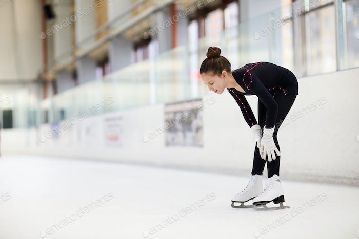 Injury on Ice Rink