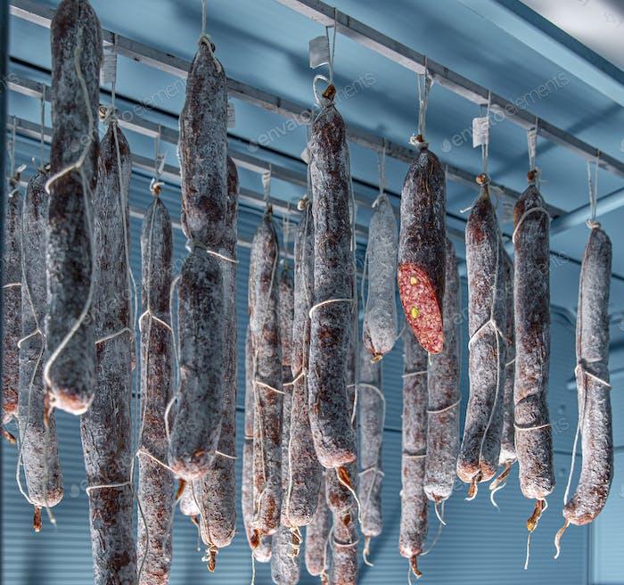 Leckere Gourmet-Salami