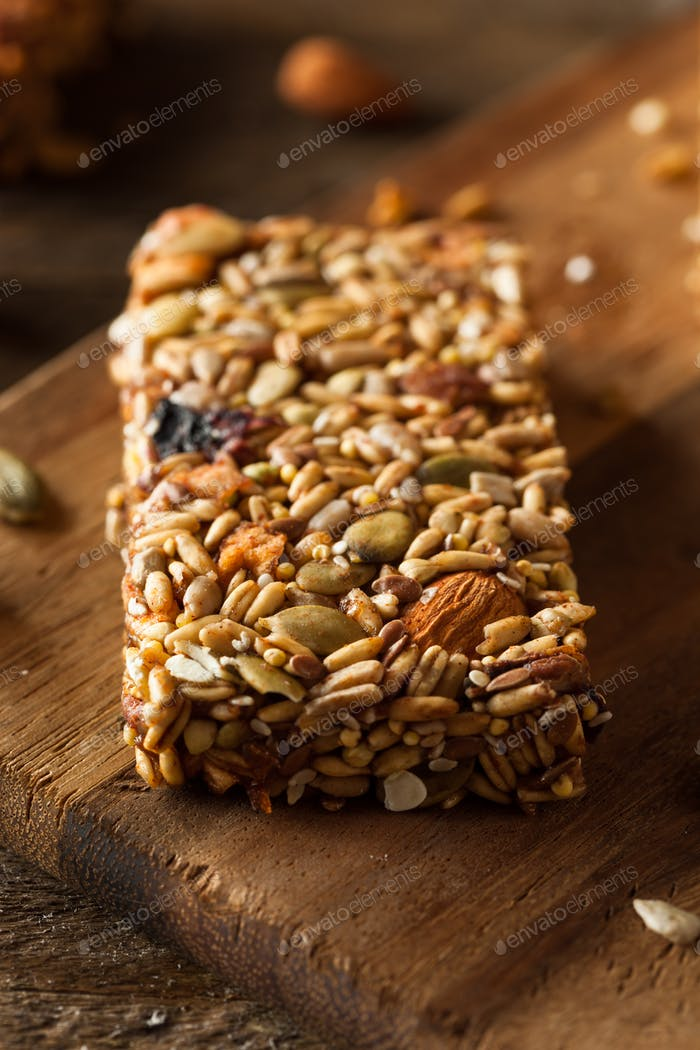 Raw Organic Granola Bars