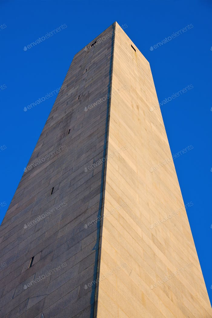 Bunker Hill Monument, Charlestown, Boston