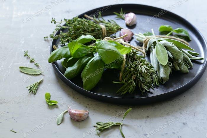 Organic Green Fragrant Herbs