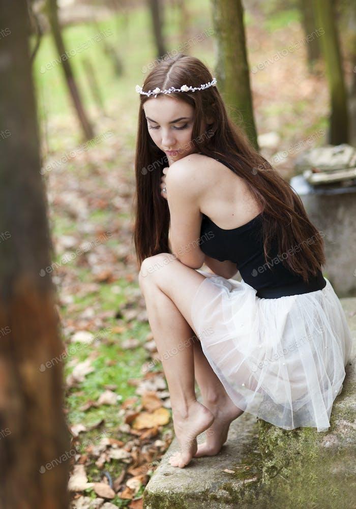 Herbst Mädchen