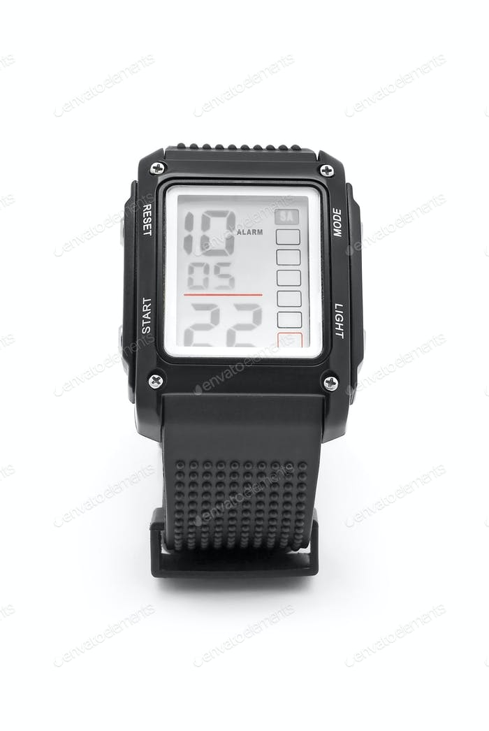 Digital-Armbanduhr