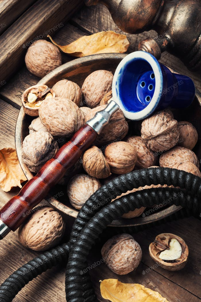 Hookah with aroma walnut