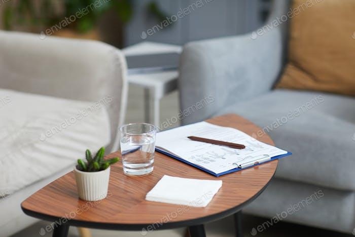 Tabelle mit Dokumenten