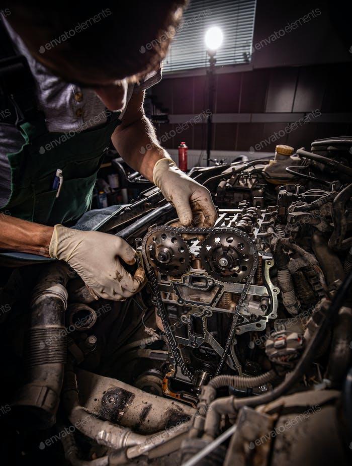 Repair service concept