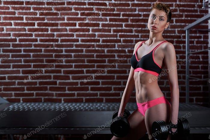 Fitness woman wearing sports gear