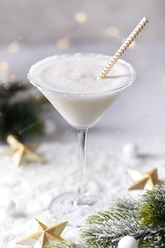 Winter cremig coktail