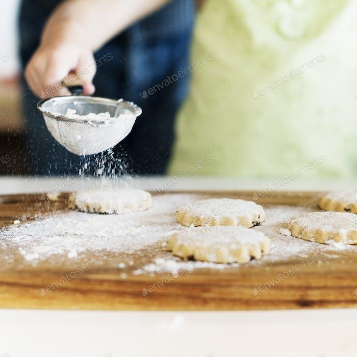 Cooking Kids Cookies Baking Bake Concept