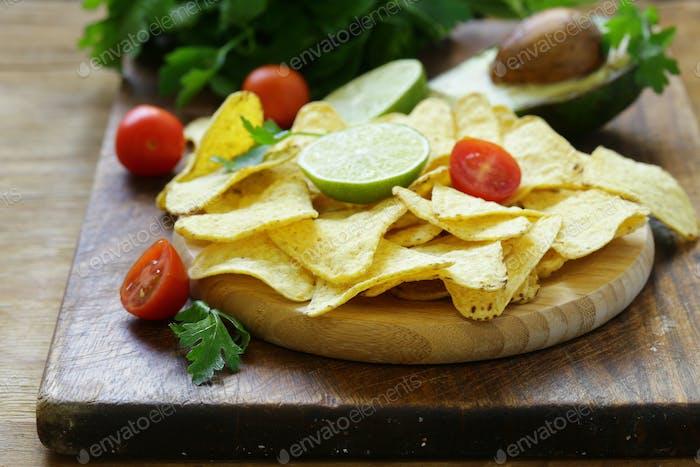 Corn Chips Nachos