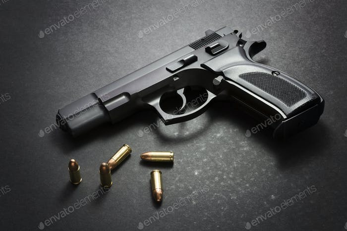Gun with ammo