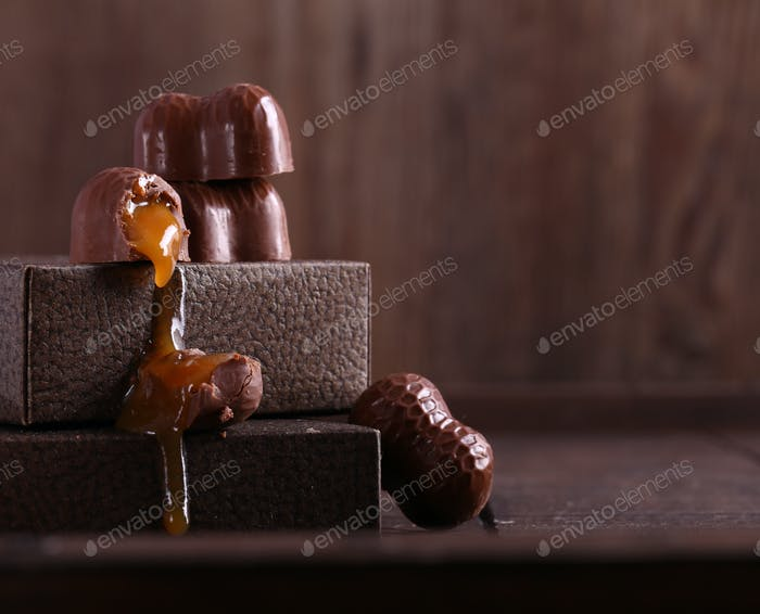 Chocolate Candies Pralines