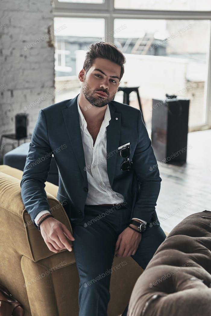 Elegance and masculinity.