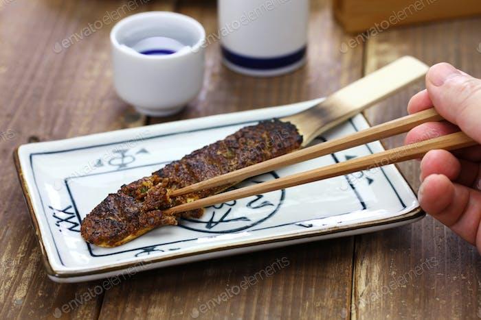 soba miso, japanese food