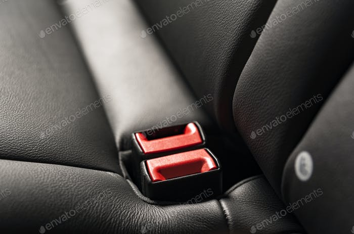 Safety belt lock