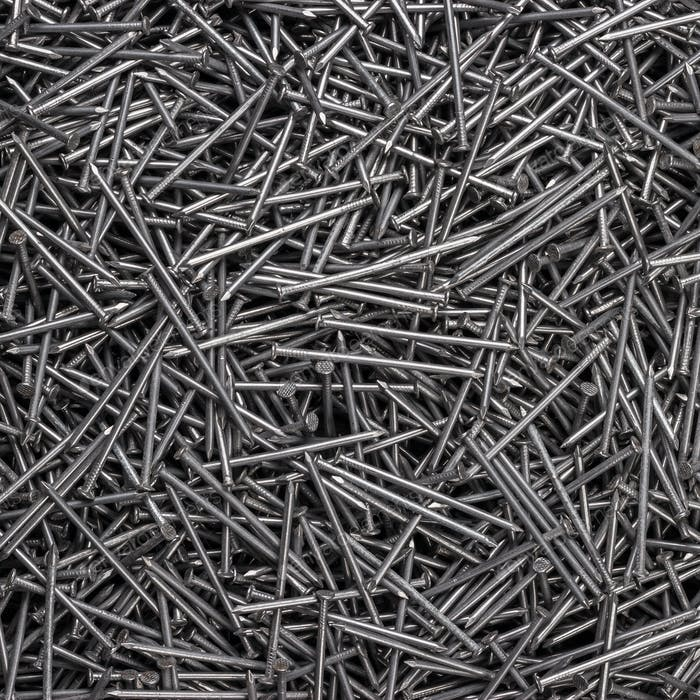 Many Nails On The Table