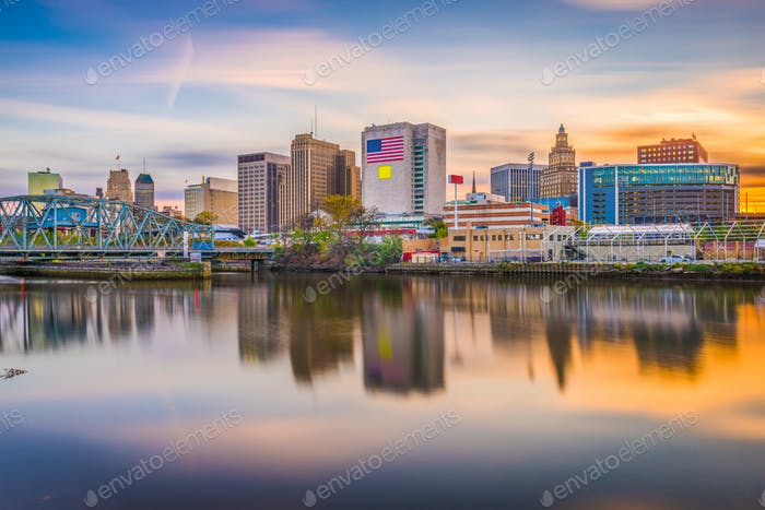 Newark, New Jersey, USA Skyline