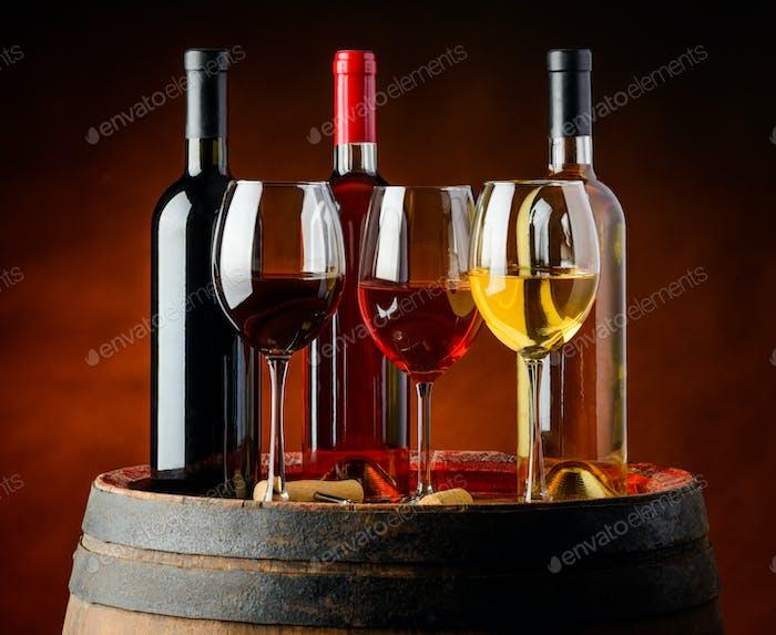 Wine in Winery