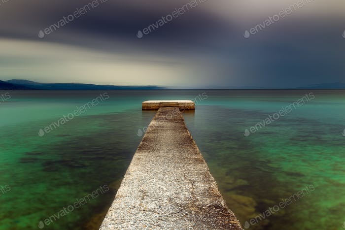 Man Made Jetty