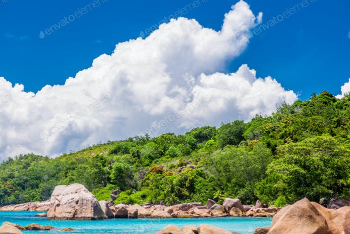 Thumbnail for Beautiful beach at Seychelles